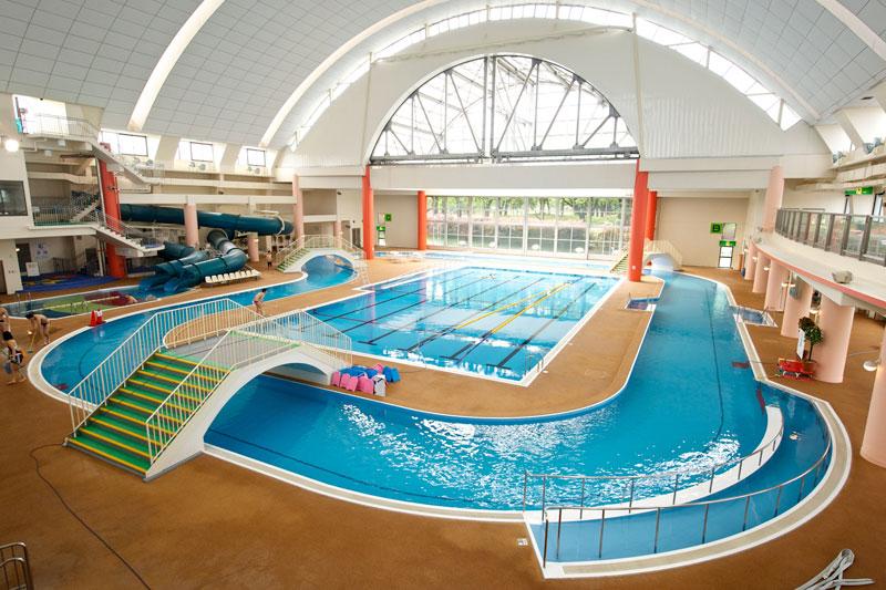 神奈川県大和市にある室内プール『引地台温水プール』