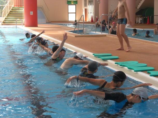 水泳教室 教室風景