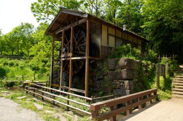 泉の森 水車小屋